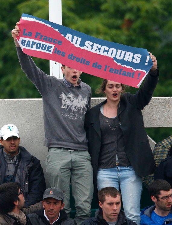 VIDÉOS. Roland-Garros: des anti-mariage gay perturbent la finale