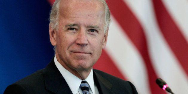 Joe Biden, le vice-président américain, réaffirme le soutien des États-Unis à la France au Mali avant...