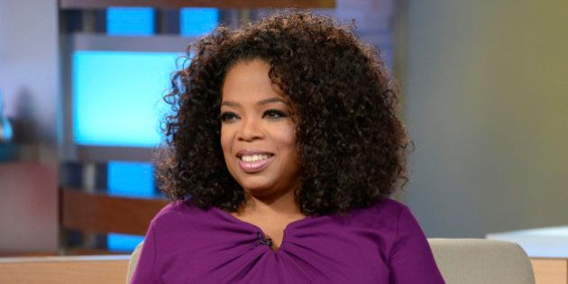 GOOD MORNING AMERICA - Oprah Winfrey visits GOOD MORNING AMERICA, 8/6/13, airing on the ABC Television...