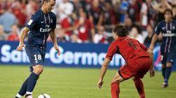 Zlatan marque, Montpellier