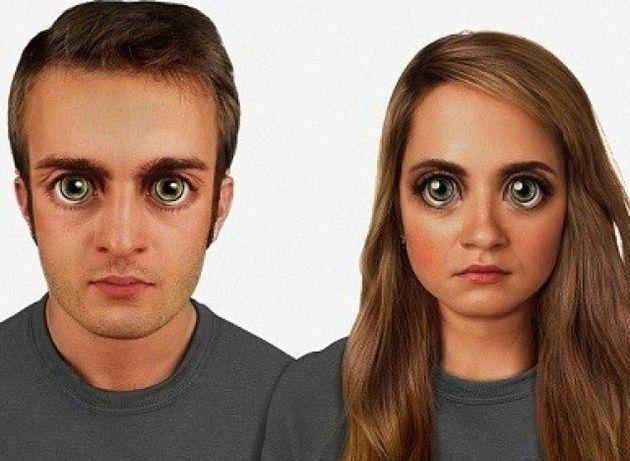 L'évolution de nos visages dans 100.000