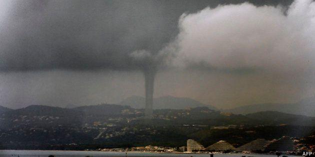 PHOTOS. Une tornade marine à