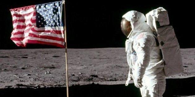 VIDÉOS. Les drapeaux plantés sur la Lune par les astronautes américains sont tous encore là, sauf un,...