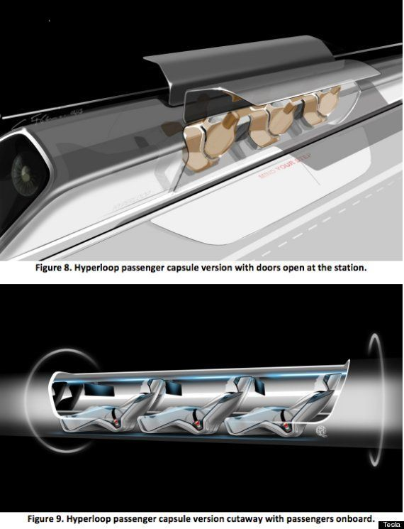 Hyperloop : des capsules futuristes pour des voyages