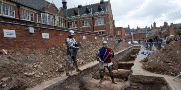 Parking King: le squelette de Richard III