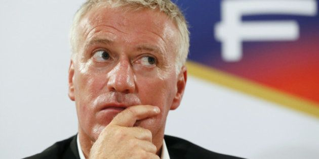 Équipe de France de Football, le sélectionneur Didier Deschamps se livre à