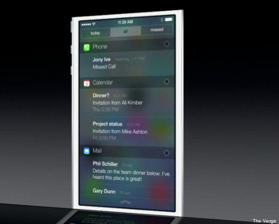 PHOTOS. Apple iOS 7 : vous n'allez pas reconnaître votre