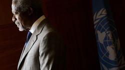 Syrie : Kofi Annan jette
