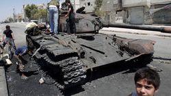 La Syrie, une guerre par
