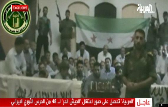 Otages iraniens en Syrie : la chaîne Al-Arabiya diffuse des