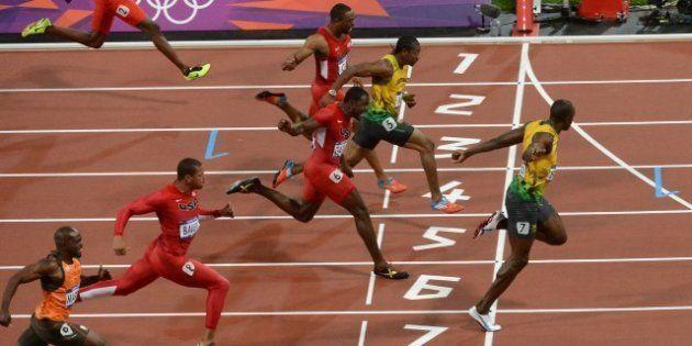 VIDÉO. Usain Bolt, champion olympique du 100 m aux JO de Londres, avec un record