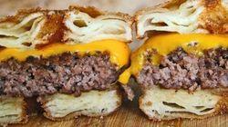 PHOTOS. Après le cronut, découvrez le cronut burger au bacon et à