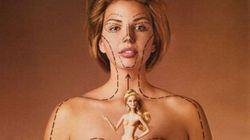 Voilà les proportions d'une Barbie dans la vraie