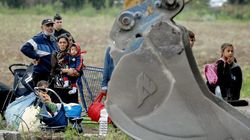 La police évacue un camp de Roms près de