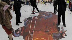 Street art: 13 incroyables illusions