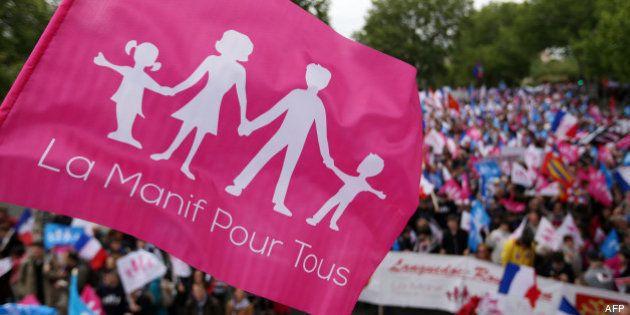 La Manif Pour Tous associe le mariage homosexuel au massacre