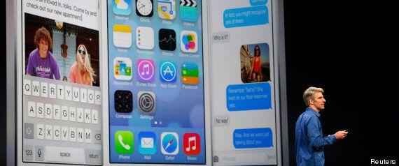 iOS 7 : Microsoft se moque déjà du nouveau système