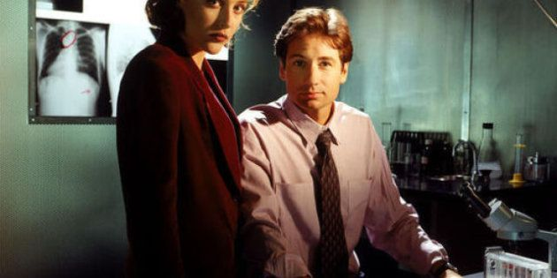 VIDÉOS. Gillian Anderson (Scully) et David Duchovny (Mulder) ensemble dans la vraie