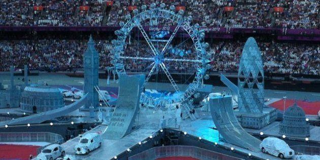 PHOTOS. JO 2012: une cérémonie de clôture en hommage à la musique