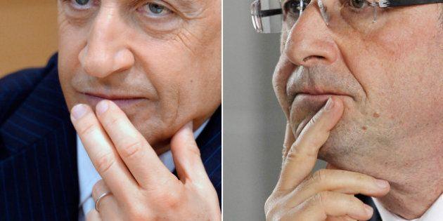 100 jours de présidence: les premières fois de François Hollande et Nicolas Sarkozy à
