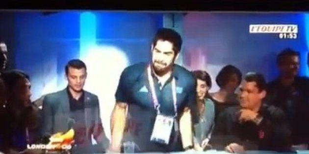 VIDÉOS. Jeux Olympiques: Nikola Karabatic fait le show dans les médias après la médaille