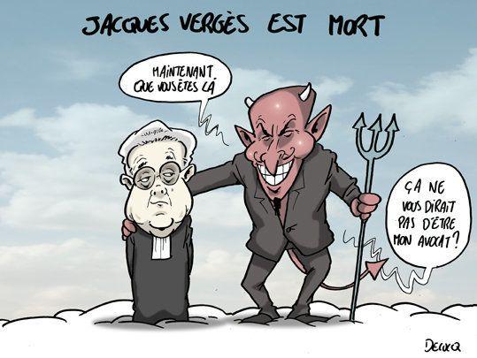 Jacques Verges se trouve de nouvelles causes à