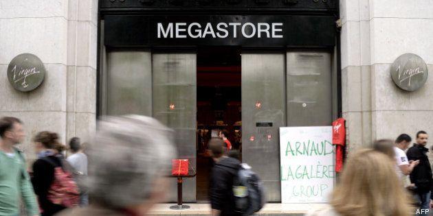 Virgin Megastore ferme ses 26 magasins