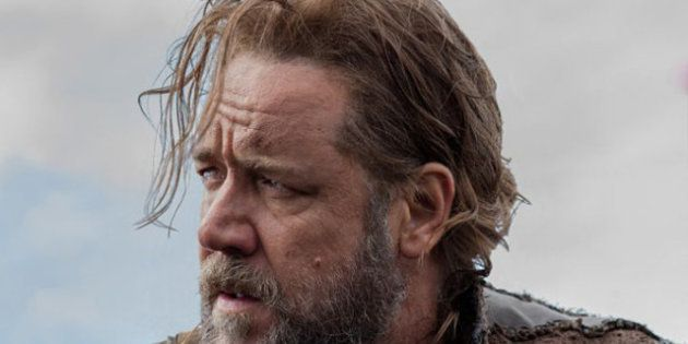 VIDÉOS. Première image de Russell Crowe en Noé dans