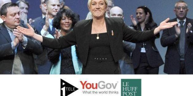 Européennes 2014: le FN à 18% devant le PS mais derrière l'UMP [sondage