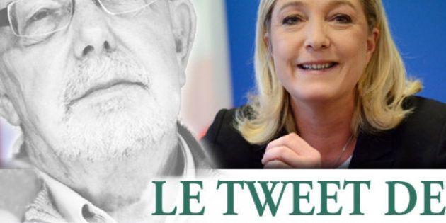 Le tweet de Jean-François Kahn - Jean-François C ou Marine L: qui est le plus à