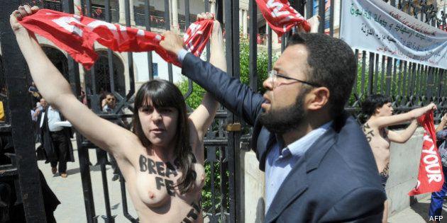 Tunisie: trois Femen condamnées à 4 mois de prison