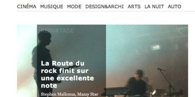 Next / Libération: Une chronique sur un concert de la Route du Rock qui n'a jamais eu