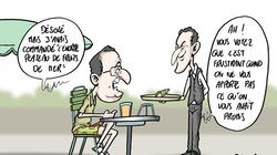 Hollande part en