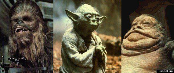 PHOTOS. Star Wars: Stuart Freeborn, le papa de Yoda, Chewbacca et Jabba le Hutt, est