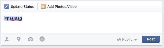 Facebook introduit des hashtags, comme