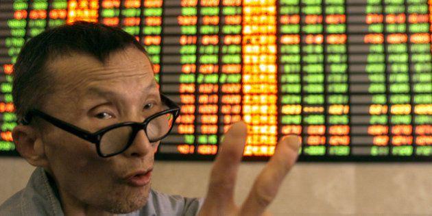 Bourse de Shanghaï: l'erreur d'un courtier propulse l'indice de
