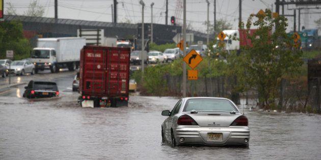 Des inondations de plus en plus coûteuses dans les villes côtières selon une