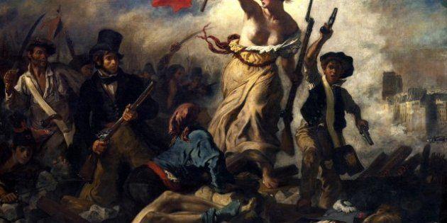 Au Louvre Lens Un Tableau De Eugene Delacroix Vandalise Par Une Visiteuse A Ete Restaure Le Huffpost