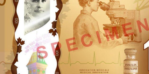La Banque du Canada retire l'image d'une Asiatique sur ses nouveaux billets de 100