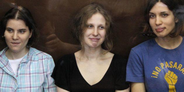 Moscou: les Pussy Riot condamnés à deux ans de camp en