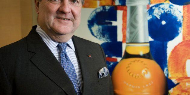 Patrick Ricard, président du groupe Pernod Ricard est mort à 67