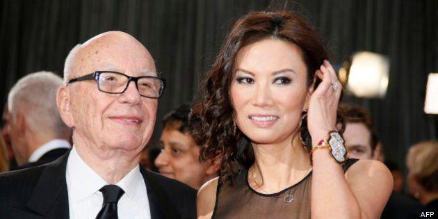 Rupert Murdoch divorce d'avec Wendi