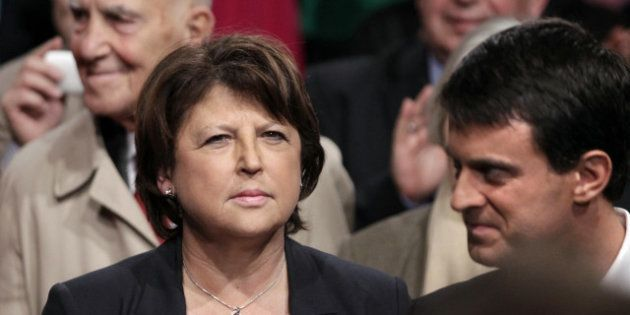 Aubry en colère contre Valls sur les camps de Roms à