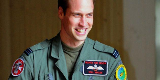 Le Prince William sauve deux filles de la noyade au Pays de