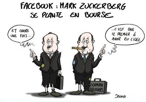 Facebook en bourse: une riche