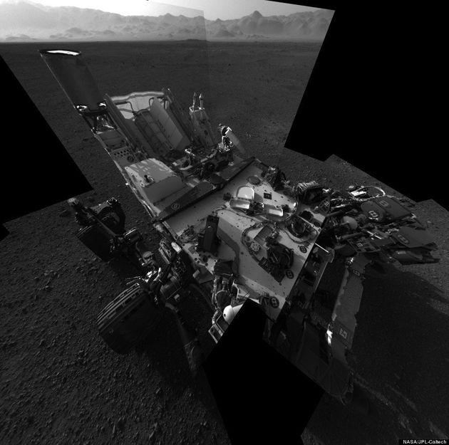 PHOTOS. Sur Mars, le robot Curiosity fait son autoportrait et envoie de nouvelles