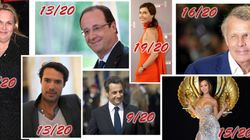 Hollande, Sarkozy, PPDA, Valérie Damidot : qui a eu la meilleure note en