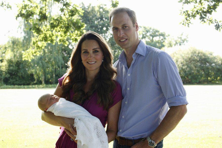 Les premières photos officielles du Prince George