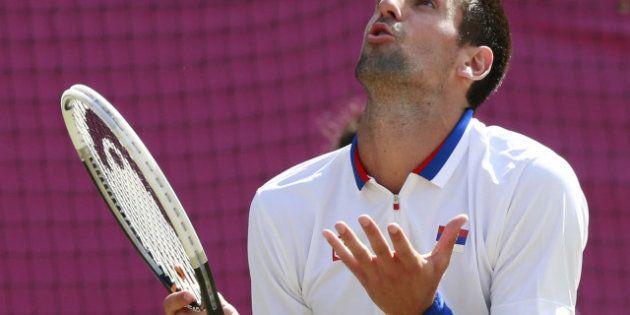 Novak Djokovic, après sa défaite aux Jeux Olympiques, a scié ses raquettes pour se
