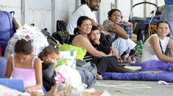 Avec les familles roms de